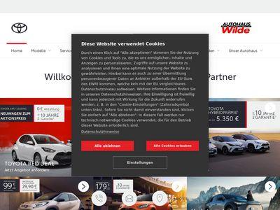Toyota Autohaus Wilde Döbeln