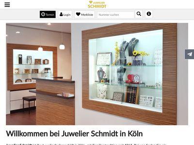 Schmidt Reinhardt Uhren u. Schmuck Juwelier