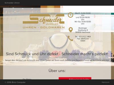 Horst Schneider Uhren und Goldwaren