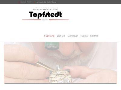 Uhrmachermeister Topfstedt