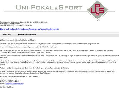 Uni-Pokal & Sport