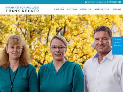 Frank Rücker Facharzt für Urologie