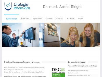 Dr.med. Armin Rieger Facharzt für Urologie