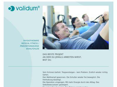 Validum Physiotherapie