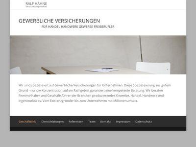 Ralf Hähne Versicherungsmakler