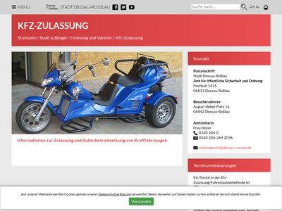 KFZ-ZULASSUNG