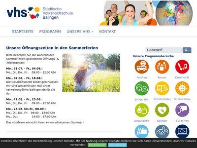 Volkshochschule Balingen e.V.