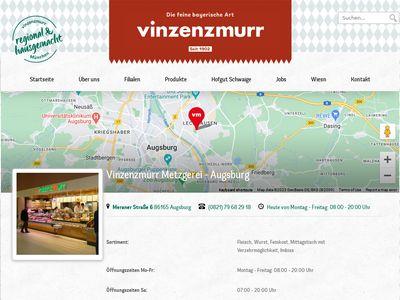 Metzgerei Vinzenzmurr - Augsburg