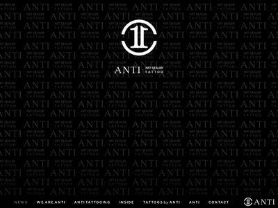 ANTI = ART DEALER + TATTOO