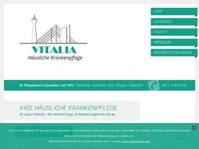 VITALIA Häusliche Krankenpflege