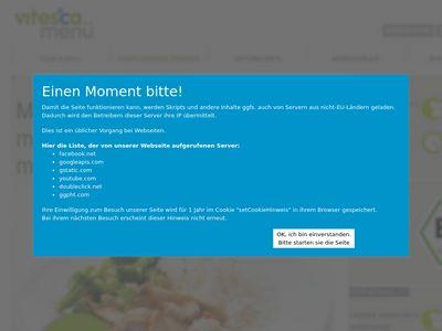 Vitesca menü Reimann GmbH & Co. KG