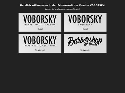 Voborsky Haare.Haut.Make-Up