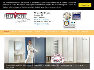 Sanitär vom Bovert GmbH