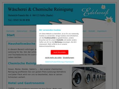 Wäscherei Edelweiss