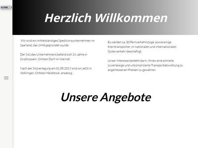 Warndt – Spedition Schneider GmbH