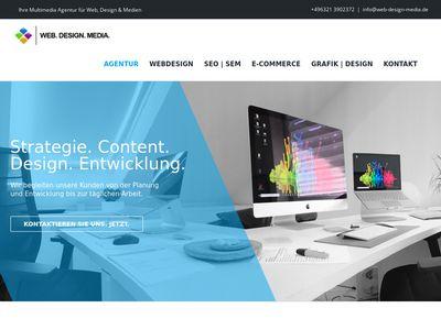WEB DESIGN MEDIA - Onlinemarketing Neust