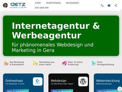 Webdesign Dietz