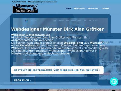 Webdesign Dirk Alan Grötker