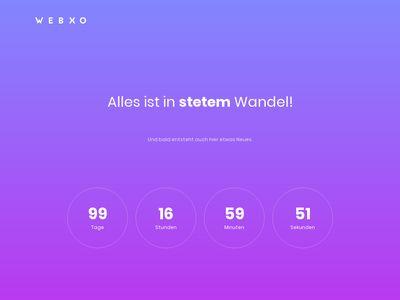 WEBXO Webdesign & Online Marketing
