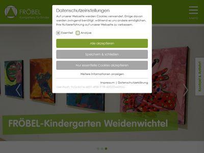 FRÖBEL-Kindergarten Weidenwichtel