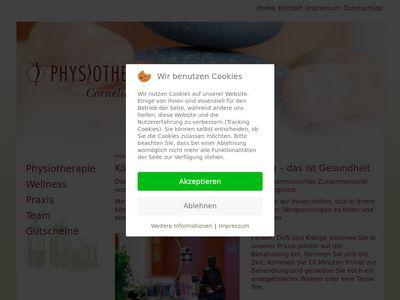 Cornelia Probst Physiotherapie