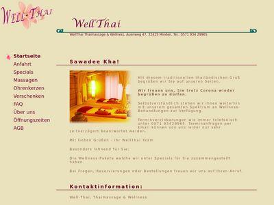 WellThai Thaimassage & Wellness