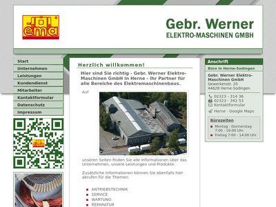 Gebrüder Werner Elektro- Maschinen-GmbH