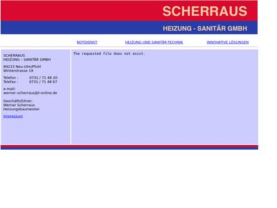 Scherraus Heizungsbau GmbH
