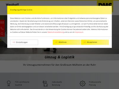 DMS Westhoff - Umzug & Logistik