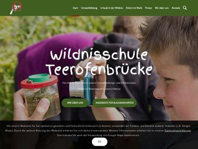 Wildnisschule Teerofenbrücke