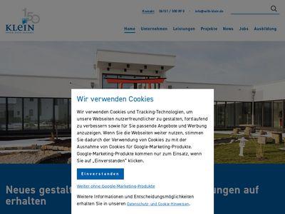 Wilhelm Klein GmbH Stuck - Putz - Malerei