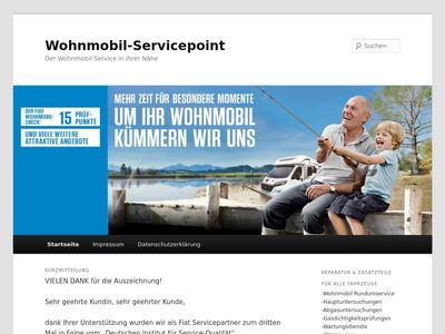 Wohnmobil Servicepoint