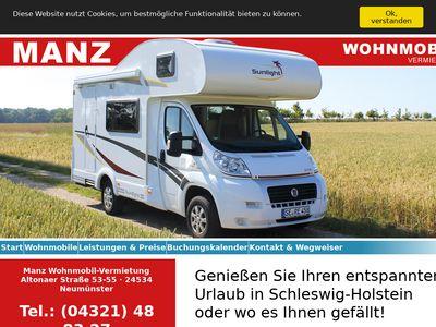 Manz Wohnmobil-Vermietung