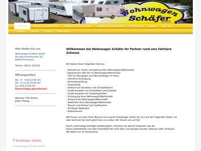 Wohnwagen Schäfer