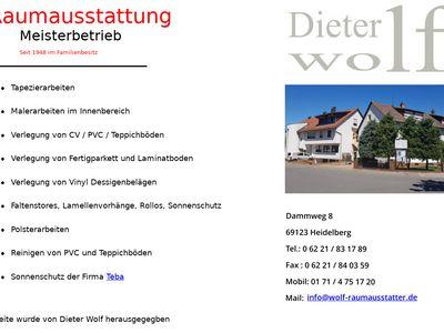 Wolf Dieter Raumausstattung