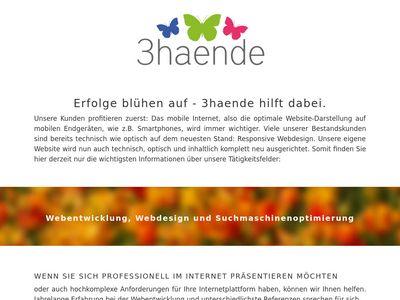 3haende Internetagentur Berlin Datenschutz