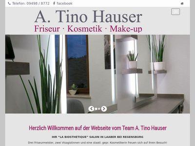 A. Tino Hauser - Friseur Kosmetik Make-up