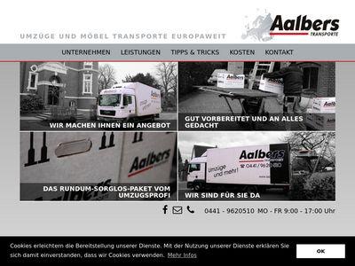 Jörg Aalbers Möbeltransporte