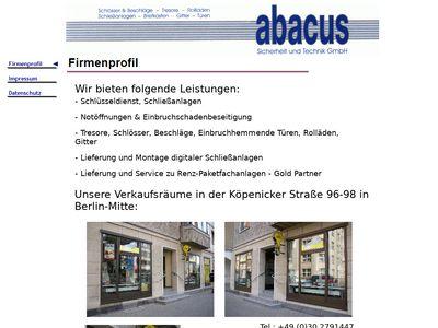 Abacus Sicherheit und Technik GmbH