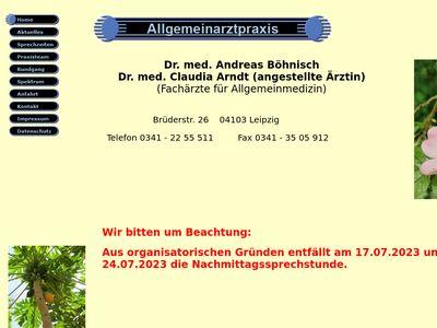 Dr. med. Andreas Böhnisch