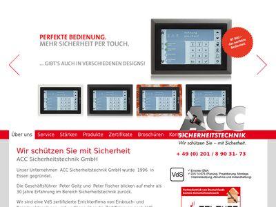 ACC Sicherheitstechnik GmbH