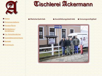 Ackermann Dirk Tischlerei