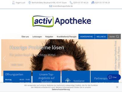 ACTIV APOTHEKE im Kaufpark Essen