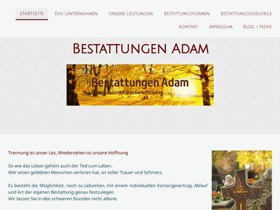 Bestattungen & Schreinerei, Oliver Adam