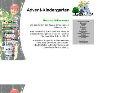 Advent-Kindergarten