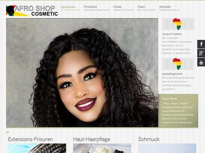 Cheick Maria Afro Shop Cosmetic