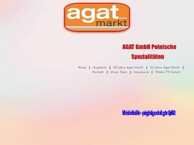 Agat-Markt Polnische und Russische Speziali
