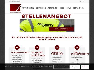 MK - Event & Sicherheitsdienst GmbH