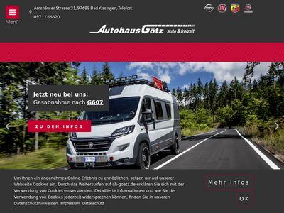 Autohaus Götz Nissan und Fiat Händler