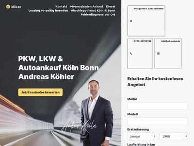 Autoankauf Köln